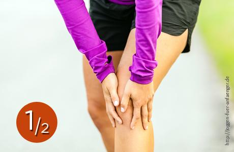 Knieschmerzen beim Joggen| Joggen für Anfänger