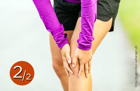 Knieschmerzen Teil 2 | Joggen für Anfänger