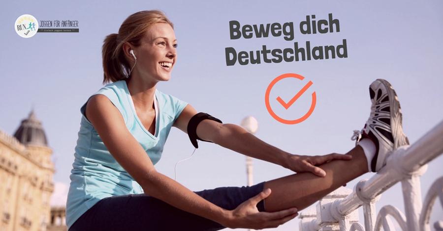 Beweg dich Deutschland - Joggen für Anfänger